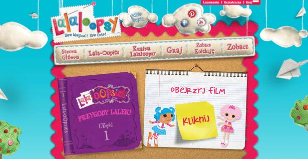Strona Lalaloopsy.com jest teraz dostępna również po polsku
