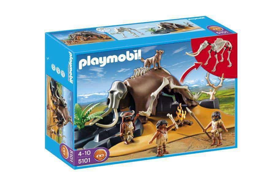 Playmobil 5101 Namiot z kości mamuta z łowcami