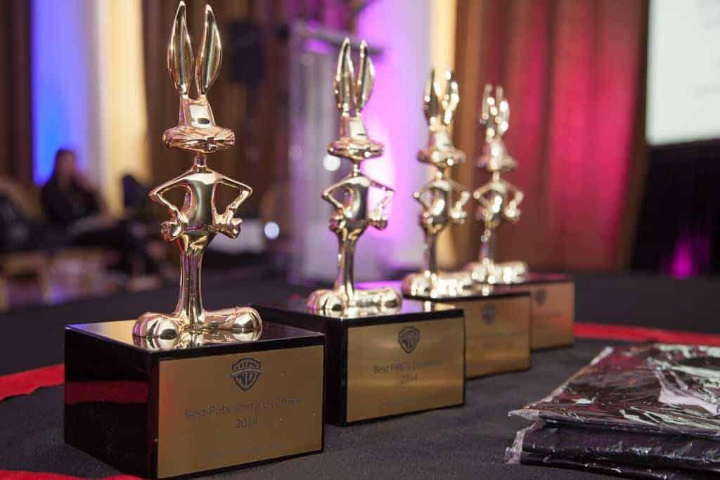 WBCP Bugs Bunny Awards - nagrody dla najlepszych licencjobiorców. Fot.ELC