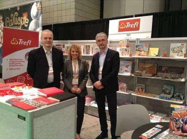 Trójmiejskiego Trefla reprezentowali w Nowym Jorku: Paweł Krak, Sylwia Popławska i Roman Szczepan Kniter. Fot.MagdalenaMazur-Chang