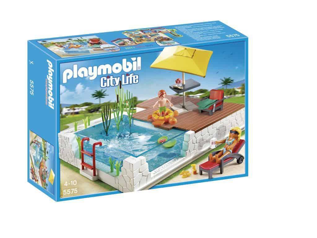 Playmobil. Taras z basenem