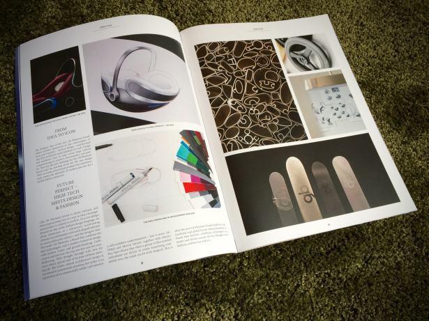 Katalog GB Platinum jest stylizowany na luksusowy magazyn lifestyle'owy. Fot.BranzaDziecieca.pl
