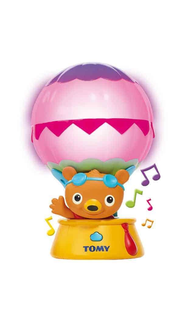 Tomy. Kolorowy lot balonem - zabawka edukacyjna.