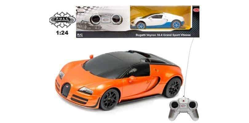 samoch d sterowany radiowo bugatti veyron grand sport r c bran a dzieci ca. Black Bedroom Furniture Sets. Home Design Ideas