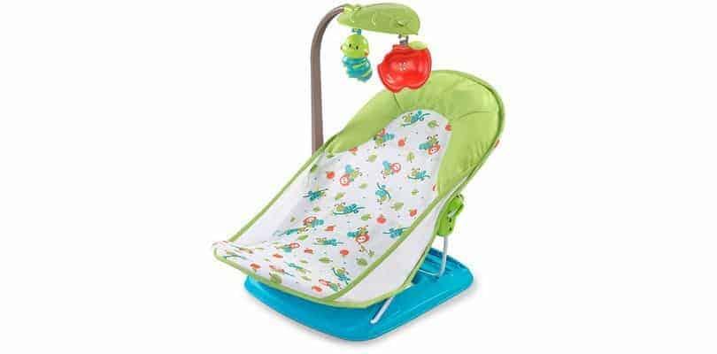 Leżaczek do wanienki z pałąkiem Summer Infant
