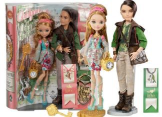 Lalki Ever After High Ashlynn i Hunter w dwupaku