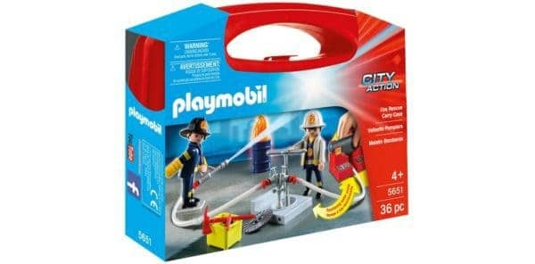 Skrzyneczka Playmobil Strażacy