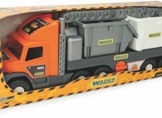 Laweta z kontenerami Wader-Woźniak Super Tech Truck