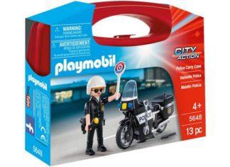 Skrzyneczka Playmobil Policja