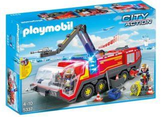 Pojazd strażacki na lotnisku Playmobil