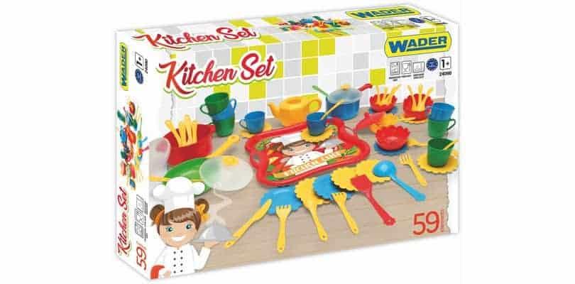 Zestaw kuchenny z tac wader wo niak bran a dzieci ca for Kitchen set zabawka