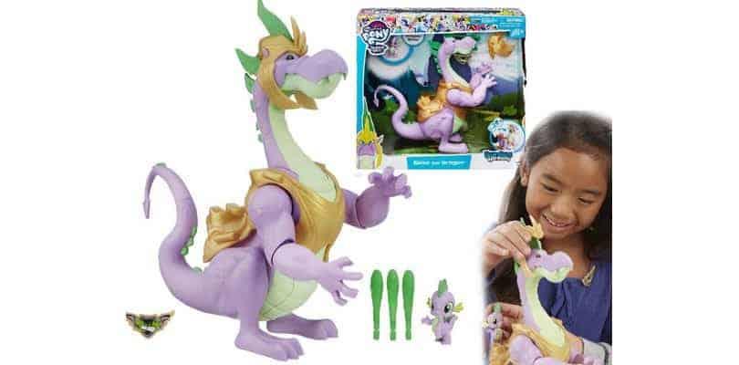 Smok interaktywny Spike z pociskami My Little Pony