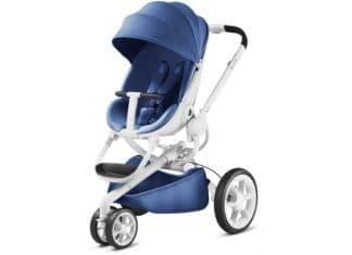Wózek Quinny Moodd Blue Base White
