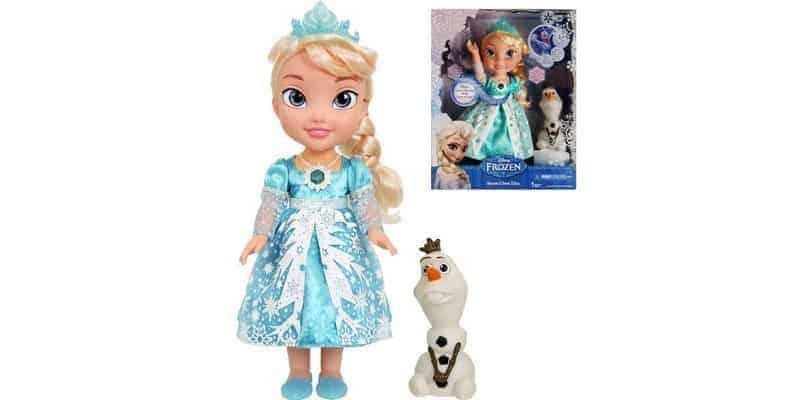 Lalka interaktywna Snow Glow Elsa