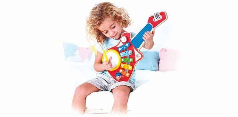 Instrument muzyczny 6 w 1 Hape E0335