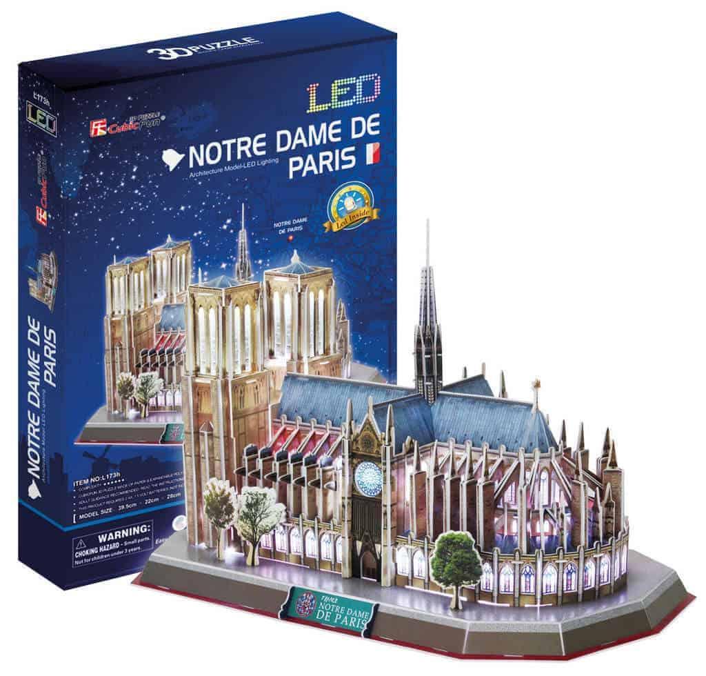 Dante. Puzzle Notre Dame.