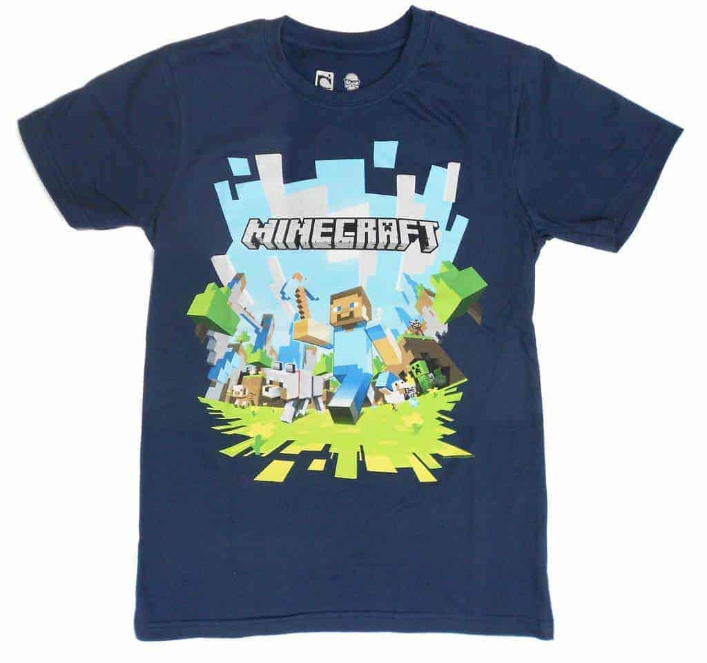 Gatito. Minecraft t-shirt