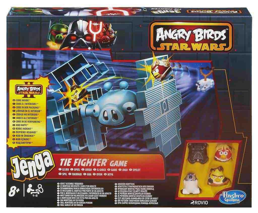 Hasbro. Angry Birds Star Wars Jenga