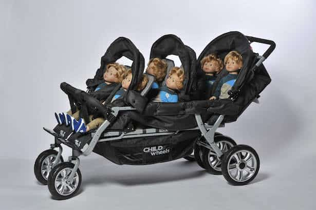 Six Seater (Childhome-Aerts) – zdobywca Kind + Jugend Innovation Award 2014 w kategorii World of Moving Baby. Fot. Koelnmesse