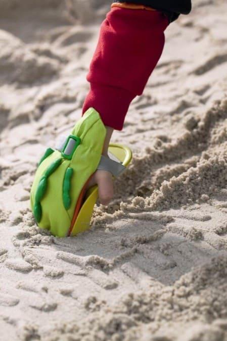 Łopatka do piasku firmy Haba