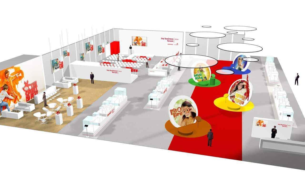 Trendy 2014 w nowej hali targów Spielwarenmesse.
