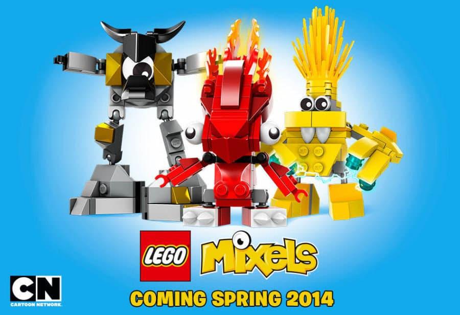 Lego Mixels. Nowy projekt Lego i Cartoon Network